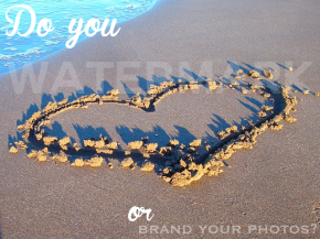 DIY Tuesday: 4 Steps to Watermark or Brand your Photos via Pixlr Editor.