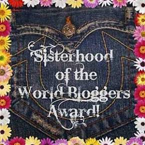 Sisterhood Award! And this one's for you!