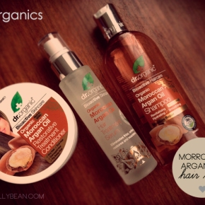 Have A Fabuluscious Hair This Christmas With Dr. Organic's Argan Oil Range