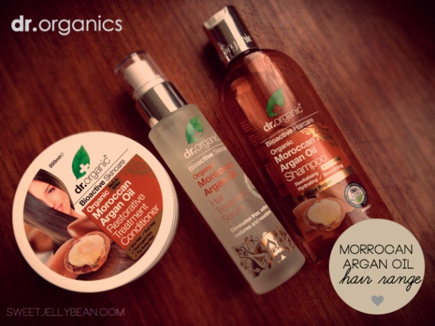Moroccan Argan Oil by Dr Organic's