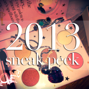 Sneak Peek of 2013 + Short & Sweet Recap of 2012