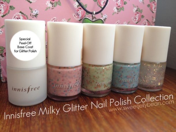 Innisfree Gitter Polish Collection